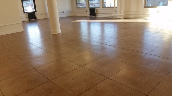 Open Space, Concrete Concrete Floors Quality Polishing Surfaces, Inc. ELMHURST, NY