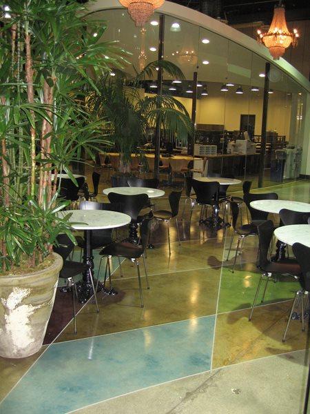 Polished Concrete, Etched Concrete Concrete Floors Demmert & Associates Glendale, CA