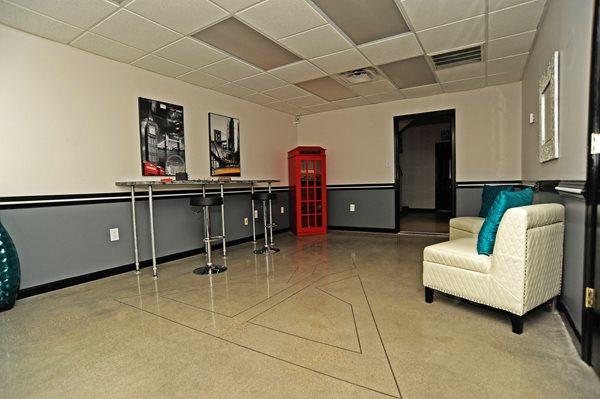 Polished Concrete Floor, Saw Cut Trident Concrete Floors Hapax Norfolk, VA