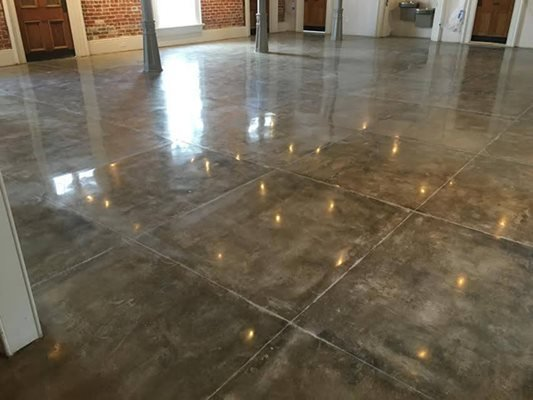 Polished Concrete, Reflection Concrete Floors Extraordinary Flooring LLC Marrero, LA