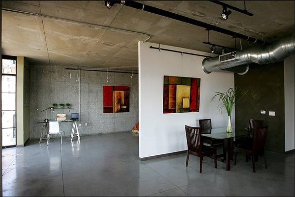 Polished, Dining Concrete Floors Specialty Design Coatings Laguna Niguel, CA