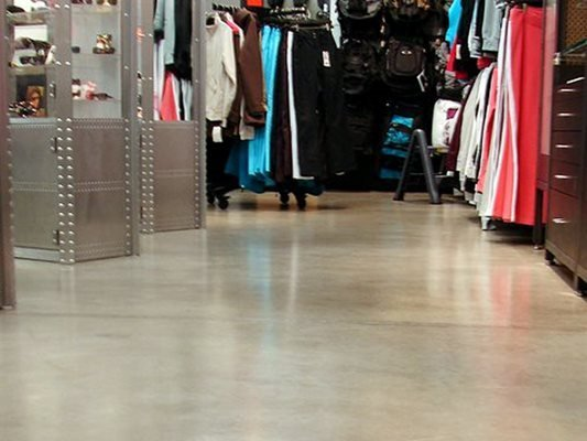 Retail, Polished, Floor Concrete Floors Sterling Diamond Polish Brooklyn Ctr, MN