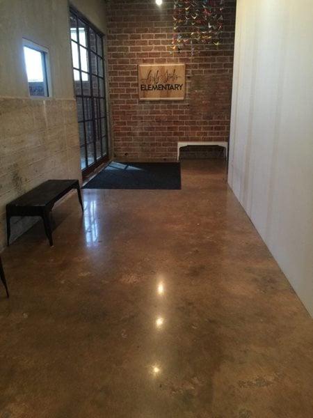 School, Firefly Concrete Floors Concrete Reflections Earleton, FL
