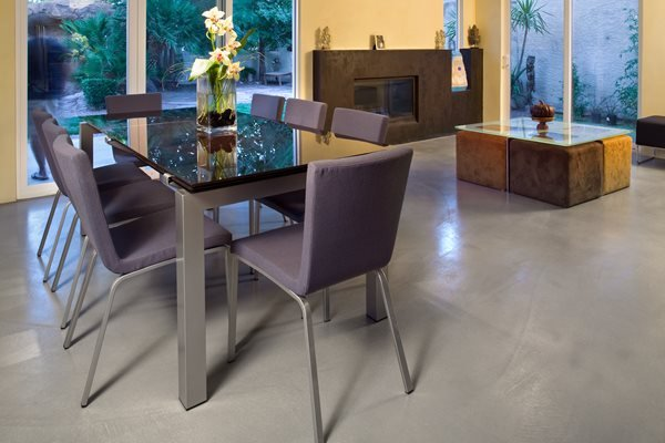 Concrete Floors Semco Modern Seamless Surface Las Vegas, NV