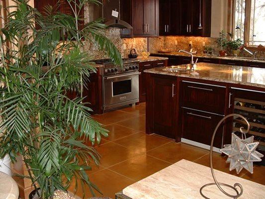 Stain, Kitchen, Concrete Floors Concrete Floors Pritchard Concrete Golden, CO