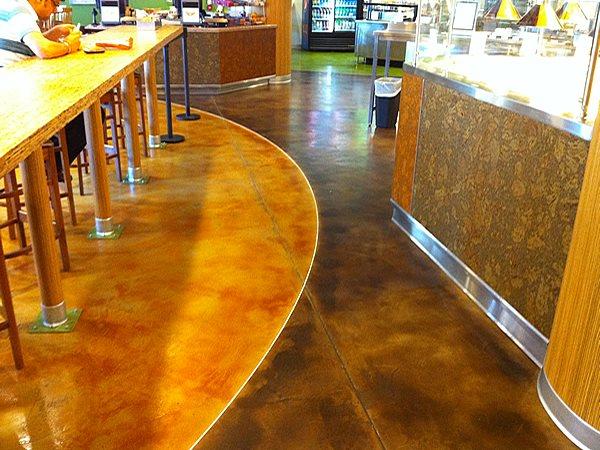 Stained Concrete, Acid Stained Floor Concrete Floors Acid Stain Flooring Glendale, AZ