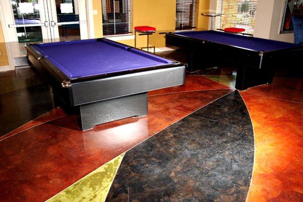 Stained Interior Floor Concrete Floors Pacific Decorative Concrete Inc Sacramento, CA