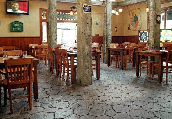 Stone, Grey Concrete Floors Custom DesignCrete, Inc Crescent, PA