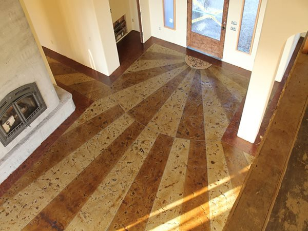 Sunburst Concrete Floors ALLSTAR Development LLC Lewisville, TX