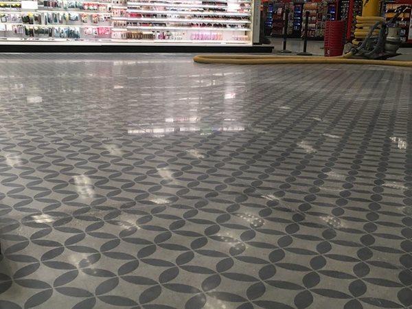 Target Store, Polished, Pattern Concrete Floors Concrete Arts Hudson, WI