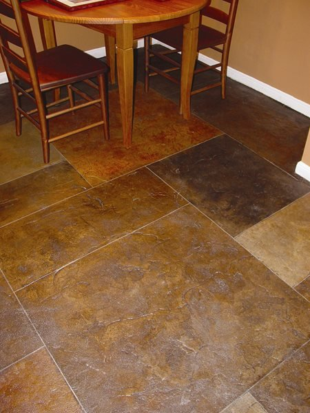 Tile, Textured Concrete Floors QC Construction Products Madera, CA