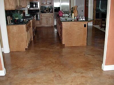 Warm, Textured Concrete Floors AFS Creative Finishes Sacramento, CA