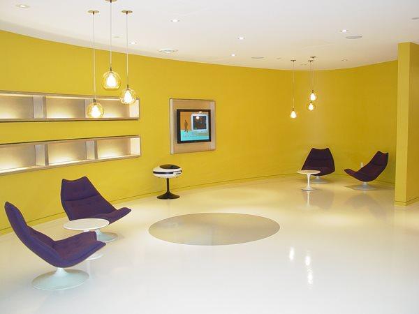 White Floor, Epoxy Floor, Modern Floor Concrete Floors Concrete Basics Rancho Mirage, CA