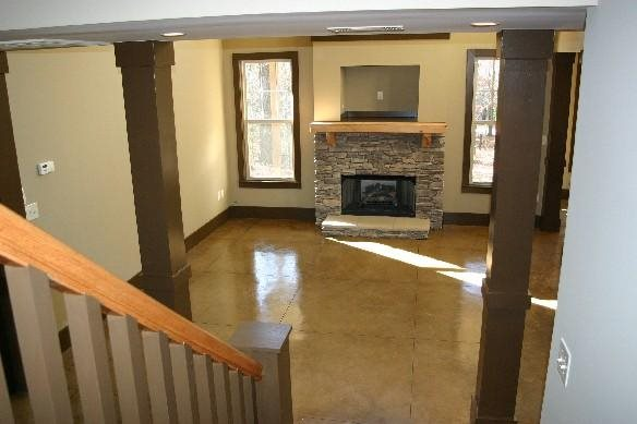 Concrete Floors Wright Homes McCalla, Alabama
