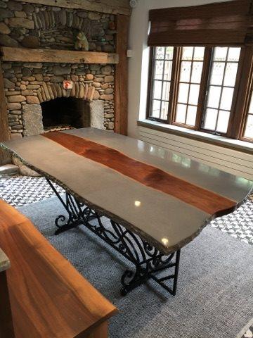 Concrete Furniture Concrete Furniture Liquid Stone Concrete Designs LLC Warminster, PA