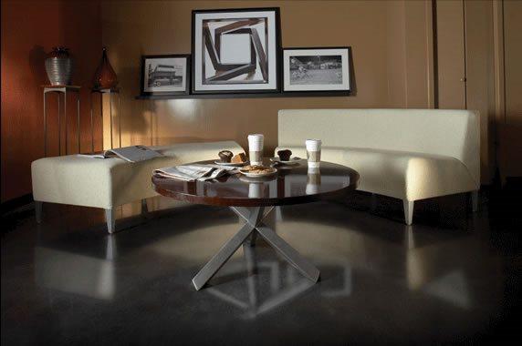 Concrete Table, Concrete Floor Concrete Furniture Preferred Concrete Polishing Kernersville, NC