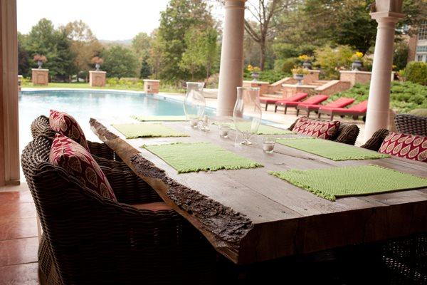 Concrete Table Concrete Furniture JM Lifestyles Randolph, NJ