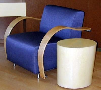 Cream, End Table Concrete Furniture Flying Turtle Cast Concrete Modesto, CA