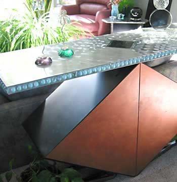 Diamond Base, Bar Concrete Furniture Concrete Studio Dallas, TX