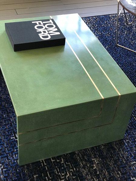 Green Coffee Table, Concrete Coffee Table Concrete Furniture Price Concrete Studio Orlando, FL