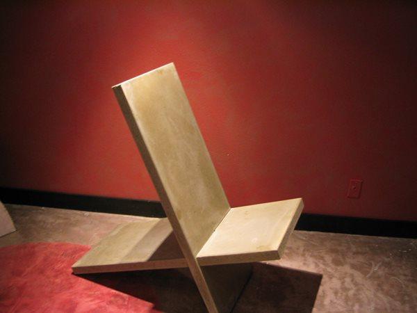 Modern, Chair Concrete Furniture Integrity Concrete Designs Woodburn, OR