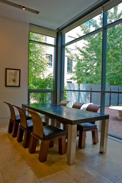 Modern Dining Table Concrete Furniture Chicago Concrete Studio Inc Blue Island, IL