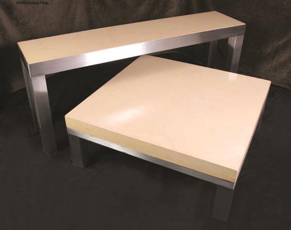 Table, Contemporary Concrete Furniture Concrete Studio Dallas, TX