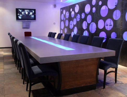 Table, Desk Concrete Furniture Concrete habitat™ Denver, CO