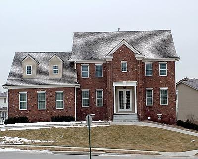 Brick, European Home Concrete Homes RP Watkins, Inc. Omaha, NE