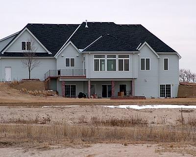 Green, Concrete House Concrete Homes RP Watkins, Inc. Omaha, NE