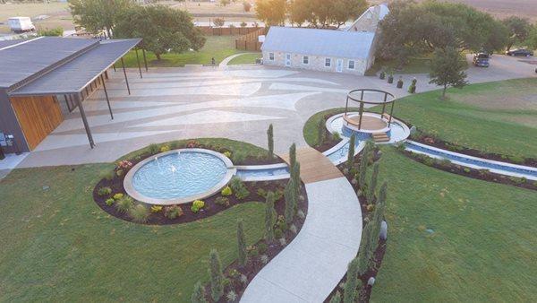 Concrete Coating, Celebrino Event Center Concrete Patios Sundek of Austin Austin, TX