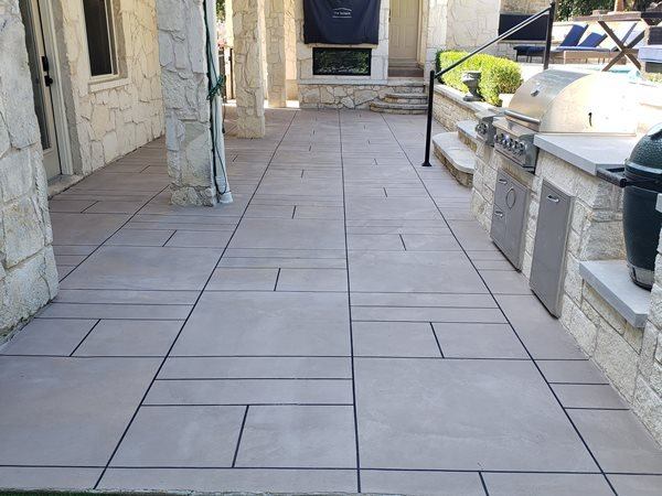 Concrete, Concrete Patio, Decorative Concrete, Outdoor Design Concrete Patios Viking Decorative Concepts Austin, TX