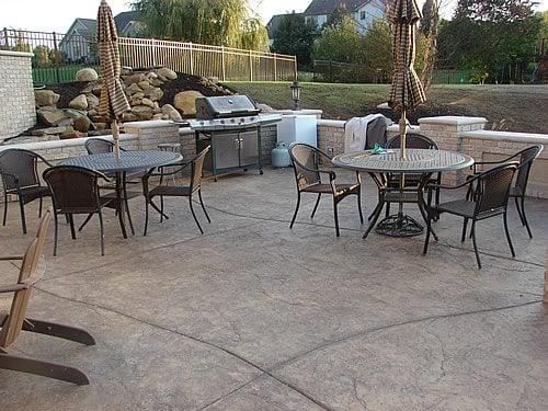 Concrete Patio, Textured Concrete Patio Concrete Patios J&H Decorative Concrete LLC Uniontown, OH