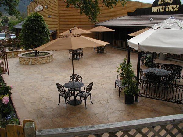 Outdoor Overlay, Exterior Concrete California Concrete Patios Surfacing Solutions Inc Temecula, CA