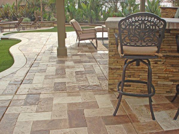 Concrete Patios Pac West Coatings Carson, CA