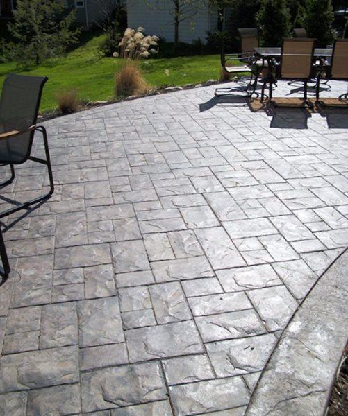Patio Furniture, Stamped Concrete Patios Trull Concrete LLC Hickory Hills, IL