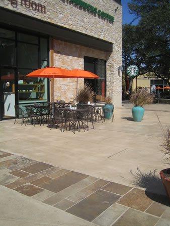 Patios, Patios, And More Patios Concrete Patios J. Robert Anderson Landscape Architects Austin, TX