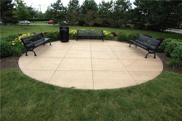 Round, Broom Concrete Patios Max Power Concrete Columbus, OH