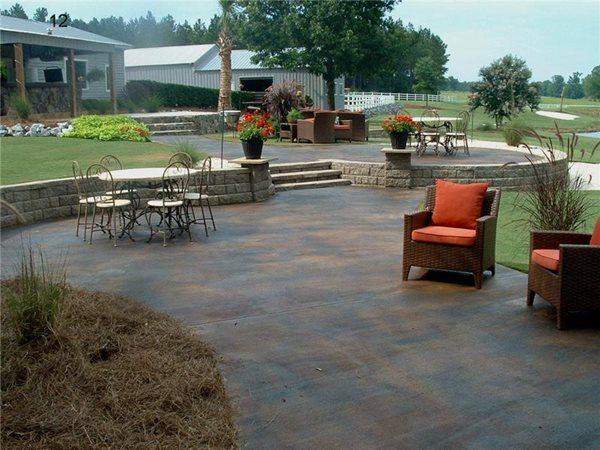 Concrete Patios Southern Textures Lexington, SC