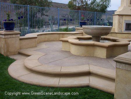 Concrete Patios The Green Scene Chatsworth, CA