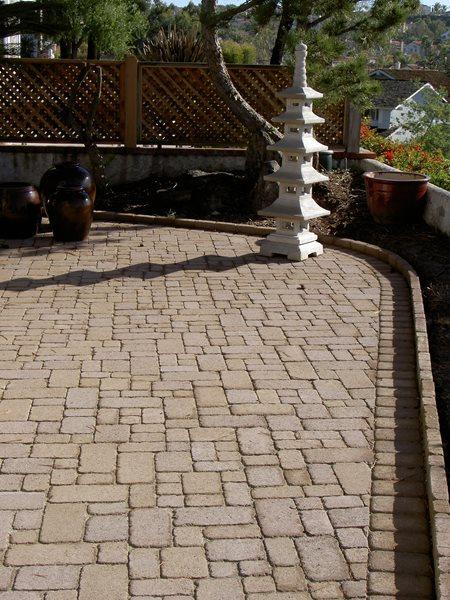 Brown, Cobblestone Concrete Pavers U S Exteriors Inc. Norco, CA