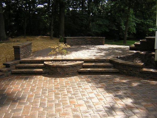 Concrete Paver Concrete Pavers NRC Landscape Construction Vienna, VA