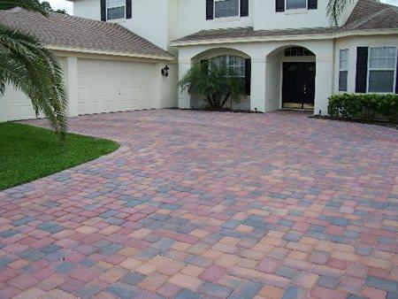 Driveway, Entrance Concrete Pavers Concrete Designs LLC Holiday, FL
