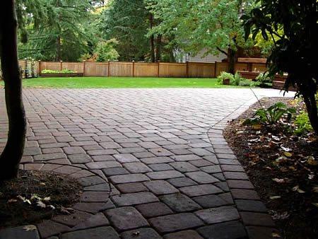 Driveway, Entrance, Path Concrete Pavers C4-Coatings Portland, OR