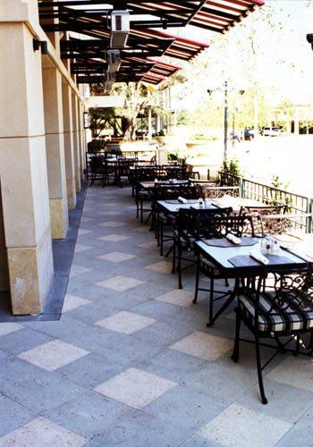 Hotel Patio Concrete Pavers Tile Tech Pavers Nationwide Distribution