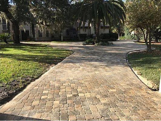Pavers, Trees, Driveway Concrete Pavers Paver King Lake Mary, FL