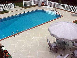 Bone, Squares Concrete Pool Decks Custom Design Concrete Resurfacing Locust Grove, GA