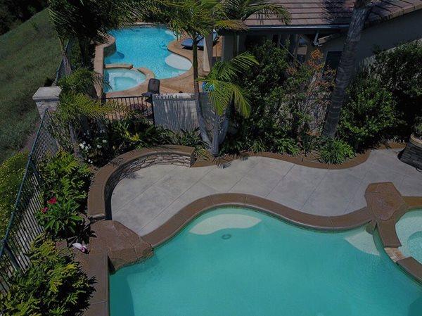 Concrete, Concrete Pool Deck, Custom Concrete, Decorative Concrete Concrete Pool Decks Staincrete Creationz Aliso Viejo, CA