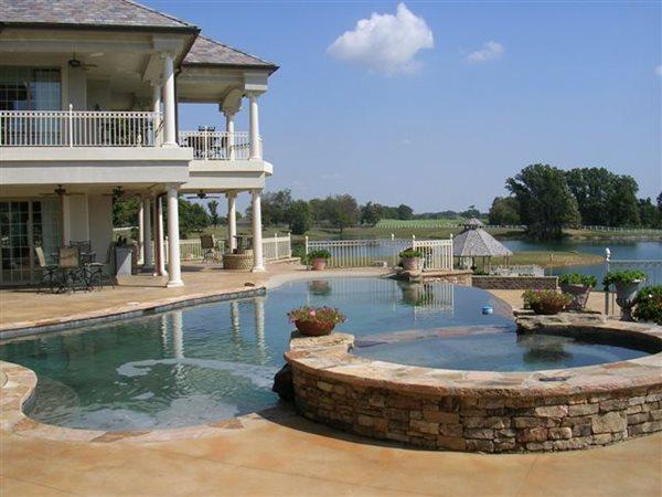 Concrete Home Concrete Pool Decks Eddie Burks