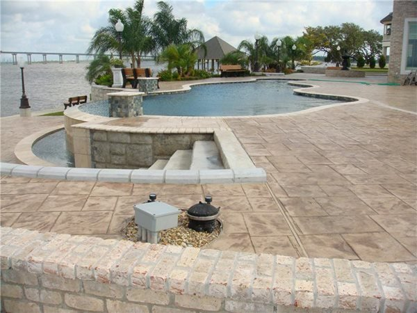 Concrete Pool Decks Creative Concrete of SE Texas Beaumont, TX
